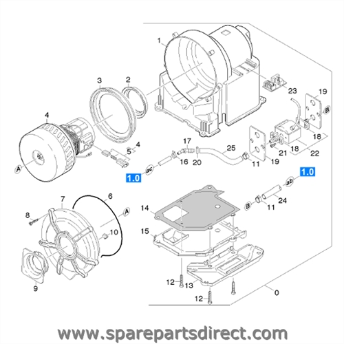 spare parts direct housing drawer