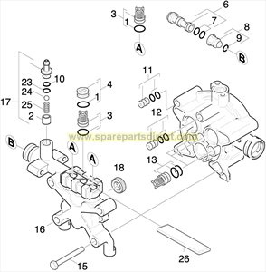 Karcher Wiring Diagram furthermore Karcher Ultra Foam Cleaner Use With Snow Foam Lance 6295743 in addition mercial Electric Pressure Washer together with 30 Jan 07 Order Tree further Karcher K289 Spares. on karcher pressure washer